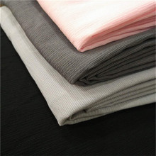Rockcolortextile CF-604 Wholesale Stretched Fabric Cloth Material Polyester Chiffon Fabric Textile