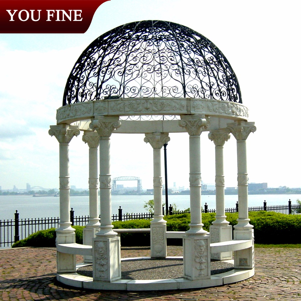 Outdoor Garden Gazebo Pavilion For Sale
