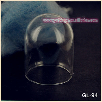 20 50mm Gl Jewelry Dome Cover With Top Hole Hand N Ball