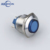 IN33 high flush head 19mm metal waterproof vandal resistant pilot light signal lamp indicator IP67