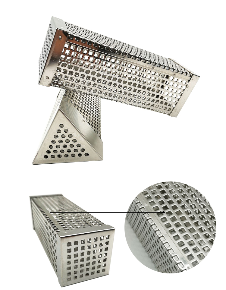 Pellet Smoker Box Stainless Steel Cold Smoke Generator for BBQ