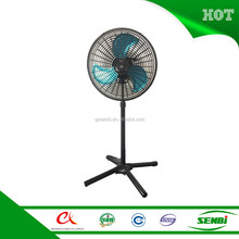 greenhouse 12v dc solar oscillating 18'' stand fan price Guangzhou