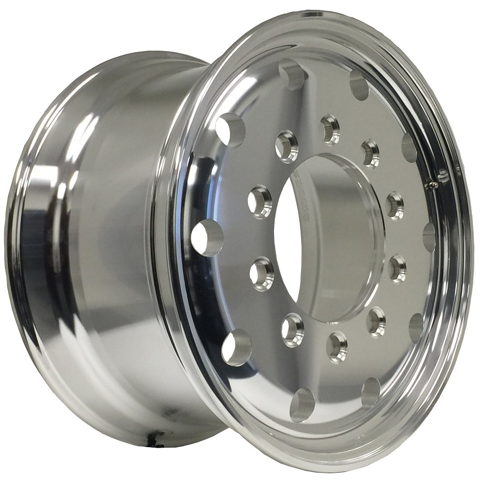 Buy Zxly 221104 Aluminum Wheels 22 5 X 11 75 Stub Pilot Budd For Dump Truck Front Wheels Outside Polish Finished Steer Wheels In Cheap Price On Alibaba Com