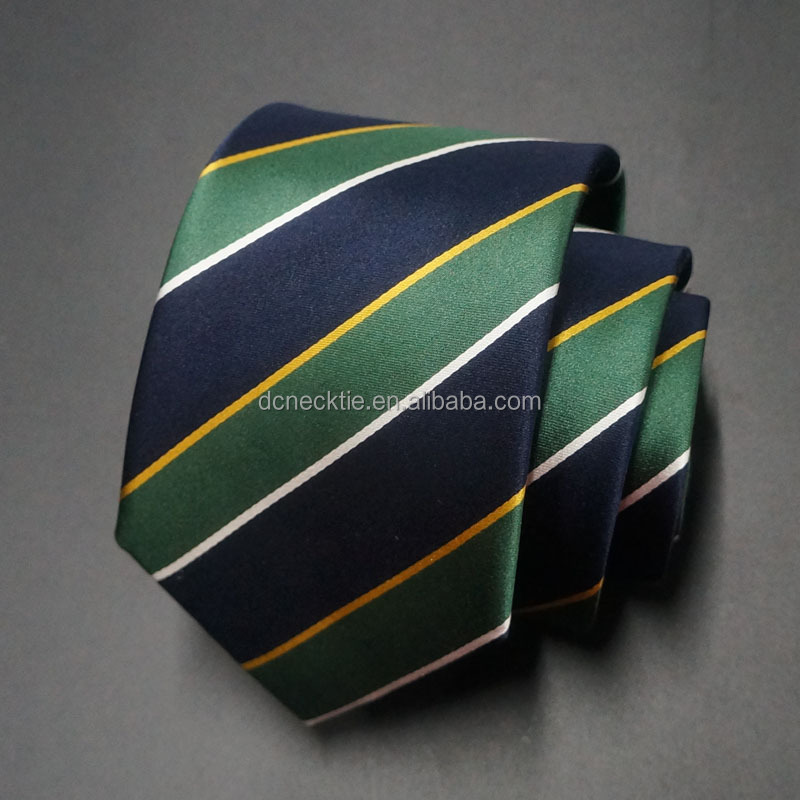 New model 100% Silk Men's Fashion Stripe Tie