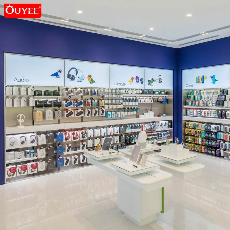 Display Counter Electronic Mobile Phone Shop Interior Design Retail Cell Phone Accessories Store Decoration Design View China Mobile Phone Display Ouyee Product Details From Guangzhou Ouyee Display Co Ltd On Alibaba Com