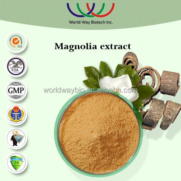 free sample magnolia extract,HACCP FDA Kosher China supplier OEM specification Magnolol,Honokiol,100% NATURE magnolia extract