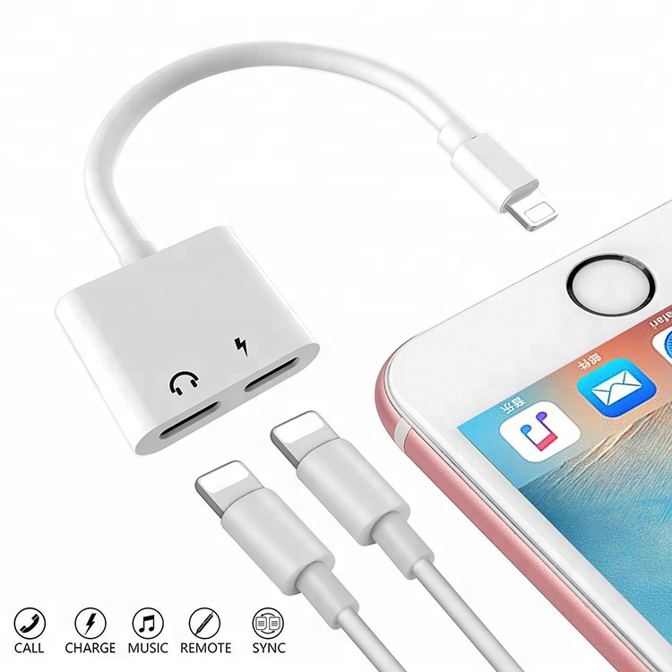 Newest Support IOS11.4 Audio Charger Adapter For Iphone 7 7Plus фото