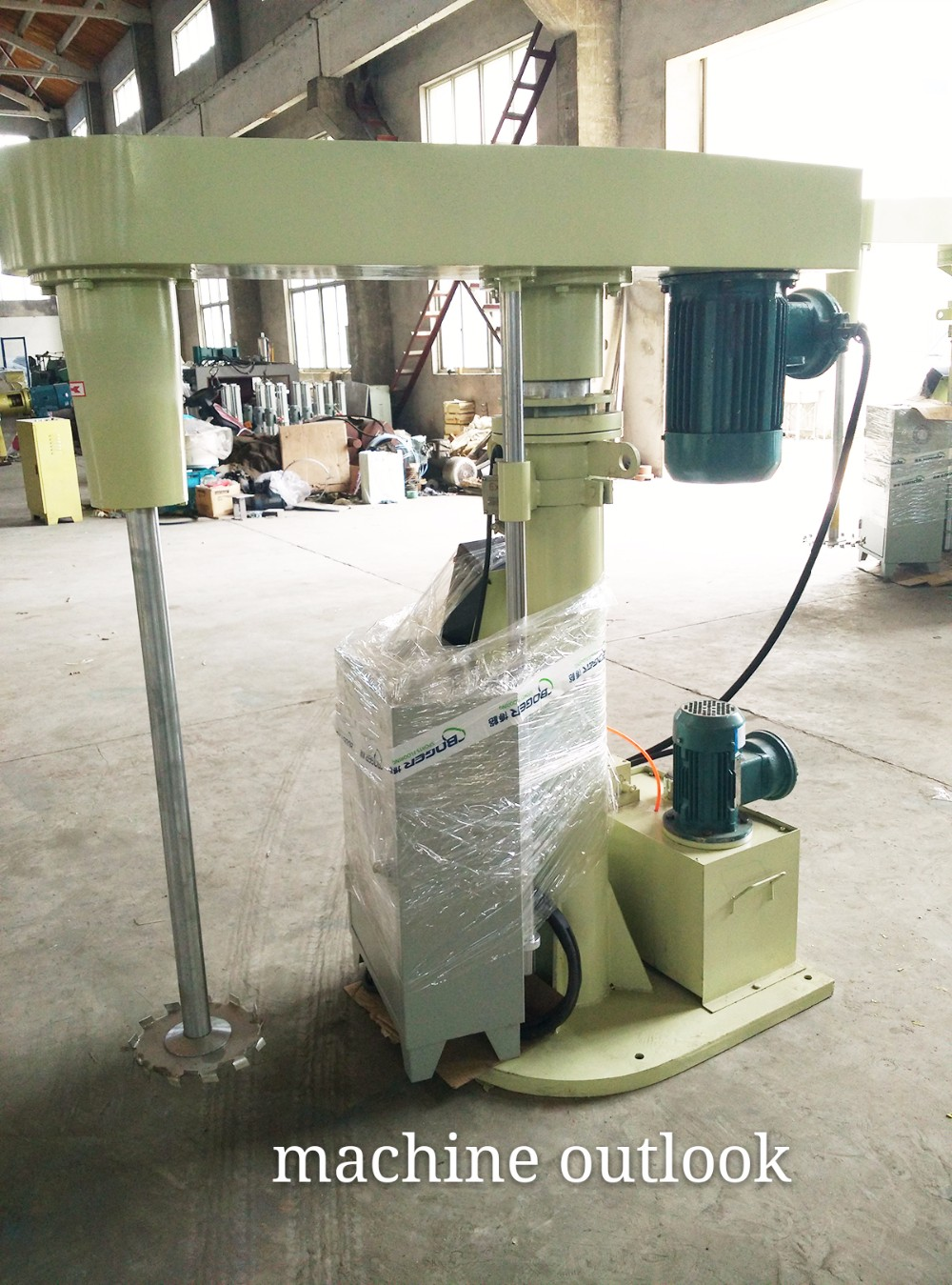32KW Solvent based Paint production High speed Dissolver