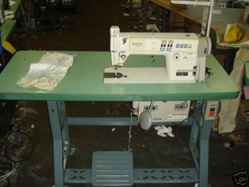 Brother Industrial Single Needle Sewing Machine Buy Textile Custom Brother Sewing Machine Table