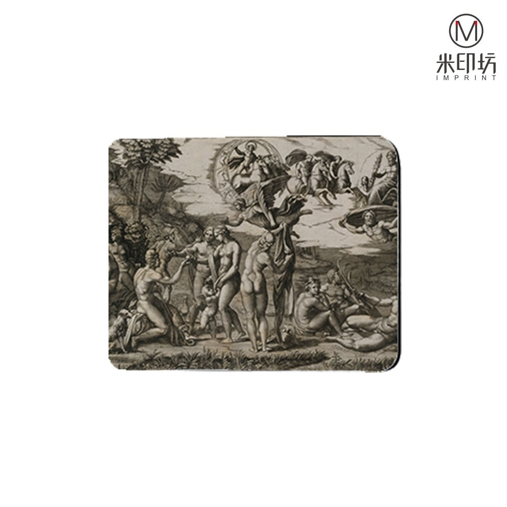 5mm thickness Judgement of Paris Painting Rectangle Rubber Mouse Pad