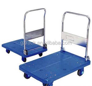 Wholesale Plastic Foldable Trolley / Best price Heavy Duty Platform Trolley
