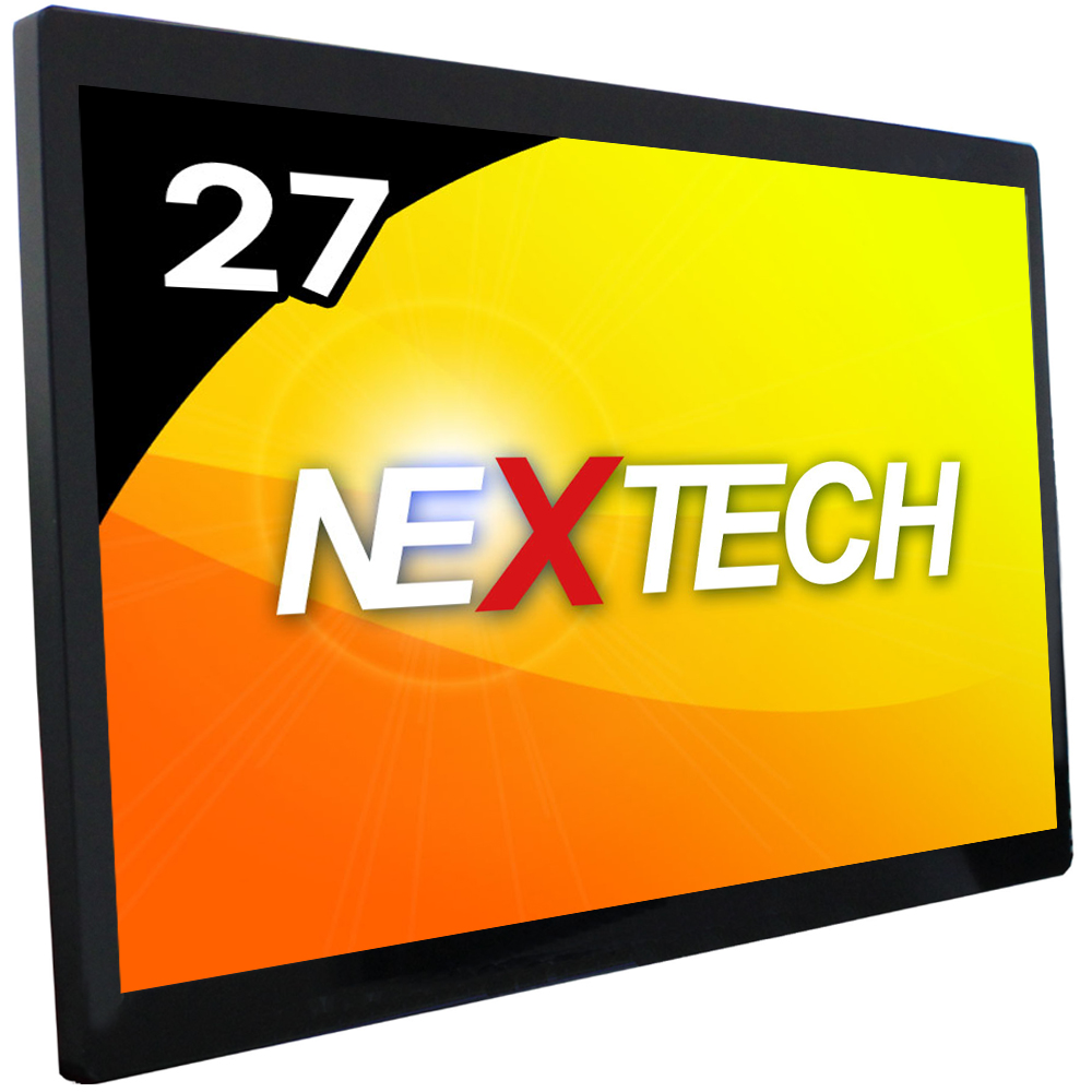 Nextech P Series 27 inch Capacitive Touch Monitor/USB connector/touch screen glass film