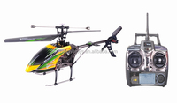40cm length 2.4G 4CH Single Blade Gyro RC MINI remote control helicopter manufacture with LCD screen BT-004753