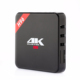 Google Certified H96 full hd 4k video google android 8.1 tv box rj45 10/100M with voice input remote control