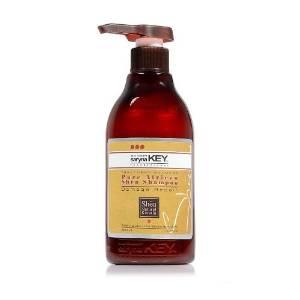 Saryna Key Shea Butter Moisture Treatment Shampoo, Shea Hair Shampoo for Damage Repair, Natural Shea Butter Moisturizing Shampoo with Pure African Shea Butter - 500ml/ 16.9 FL.oz