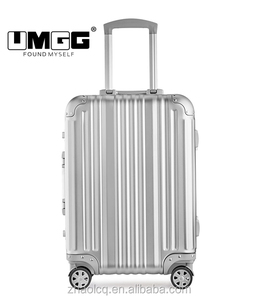 "High Quality Aluminum Luggage 18""21""25 Retractable Travel Suitcase"
