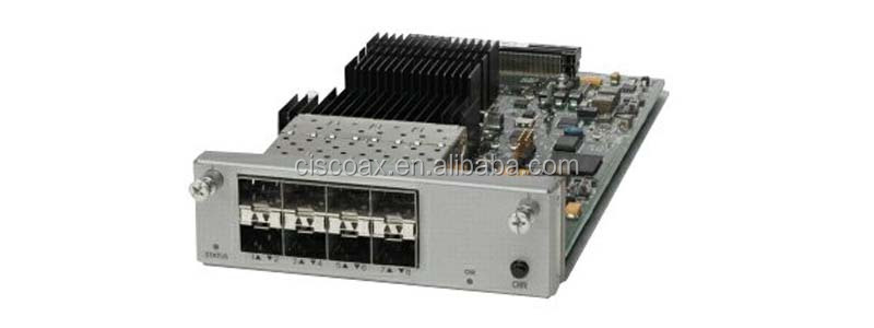 HOT SALE Best Price High Quality Cisco Catalyst 4500X Switch 8 Port 10GE Ethernet port uplink Module C4KX-NM-8SFP+