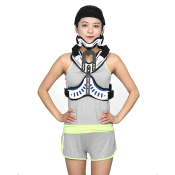 Medical arthritis air head neck brace traction for pain