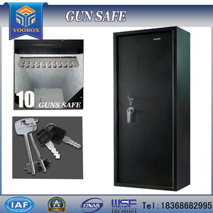 2019 YUNLIN YOOBOX hot sale and high quality gun case apartment door safe lock the gun safe wholesale and acrylic storage gun bo