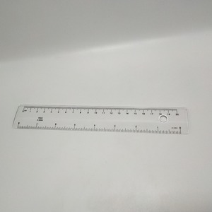 Factory Promotional Custom 20cm Clear Plastic Ruler