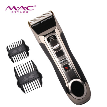2019 mode mannen tondeuse professionele elektrische draadloze kapper razor hair trimmer
