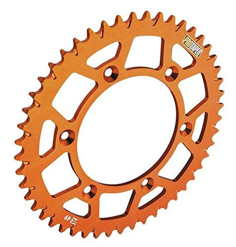 ProTaper 033184 Race Spec Aluminum Rear Sprocket - Orange - 40T, Material: Aluminum, Sprocket Position: Rear, Sprocket Size: 415, Color: Orange, Sprocket Teeth: 40