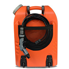75W rechargeable battery Outdoor High Pressure Steam Car Wash Machine