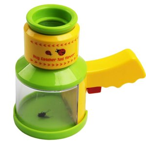 Bug Catcher&Viewer with Microscope Magnifier Nature Insect Exploration Kit Toy for Kids Children Insect Observation Box