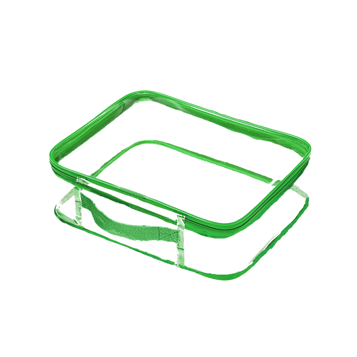 Practical Water Resistant Fashion Traveling 6pcs Set PVC Clear Packing Cubes