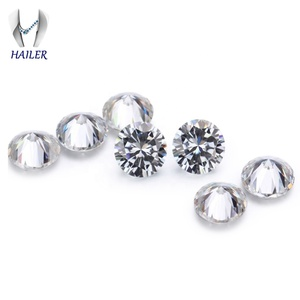 Wholesale good price moissanite solitaire synthetic diamond