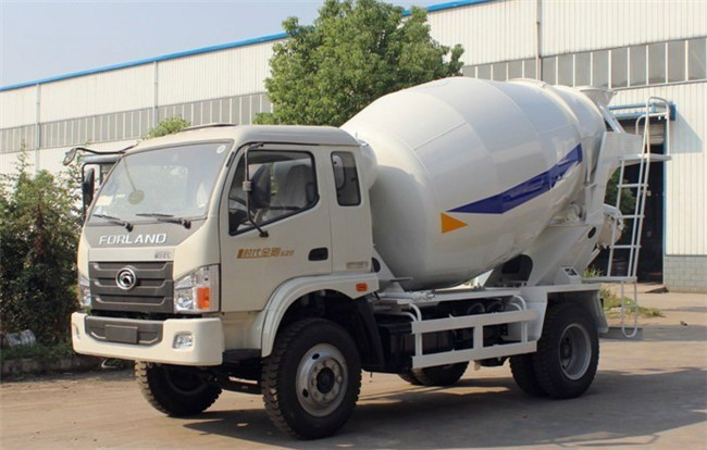 China truck Foton concrete mixer truck for sale, high quality Foton small concrete mixer truck