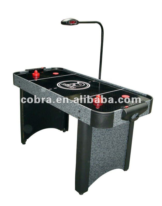 5 feet ice air hockey game table,Bridge-scorer,CE Certificate,puck,hitter