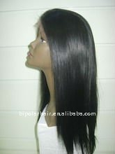 YAKI synthetic lace front bangs wigs