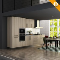 7 Days Delivery One Piece Kitchen Unit Apartment China Kitchen Goods