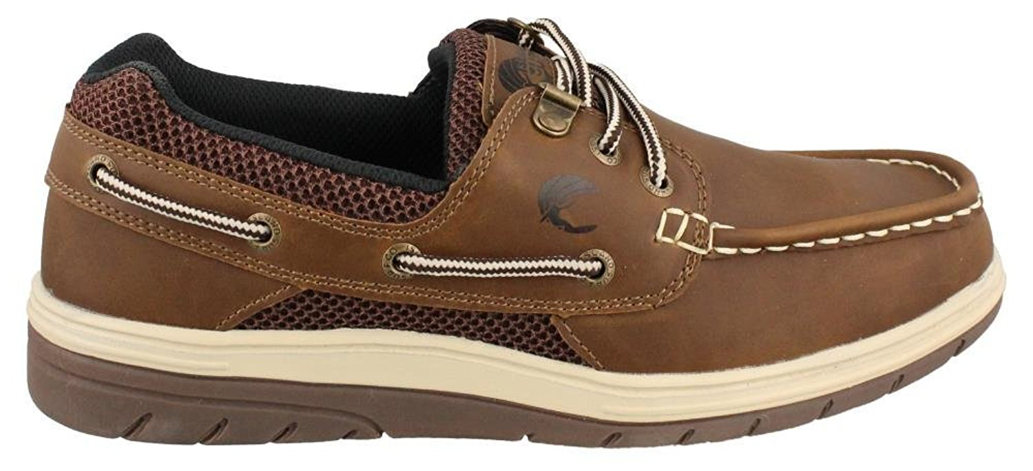 new styles 4a085 b51c7 Get Quotations · Island Surf Men s Company, Sail Lite Lace up Boat Shoe