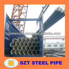Cold rolled/ drawn ERW welded steel pipe for Basketball Structure manufacture
