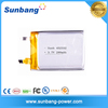 3.7v 280mah li-polymer rechargeable battery with factory price