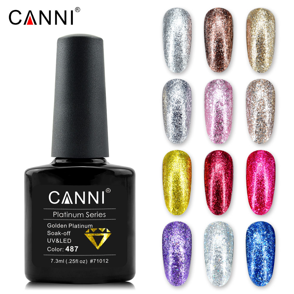 71012 Canni Nail Art Best Selling Products Of Color Platinum Gel ...