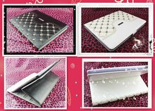 Luxury crystal case for tablet pc