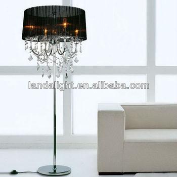 Wholesale Best selling modern crystal chandelier floor lamp ...