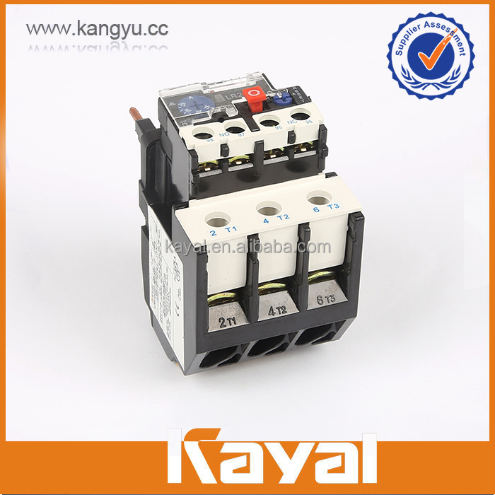 High quality LR2-D33 PA/Materials digital overload relay