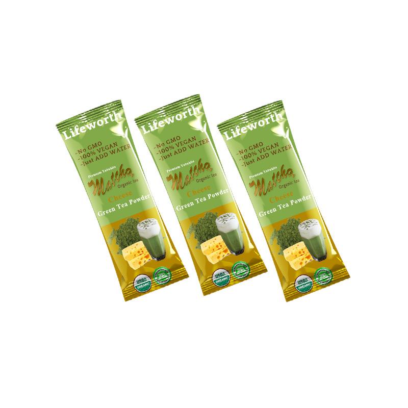 Lifeworth vegan cheese private label matcha oem - 4uTea | 4uTea.com
