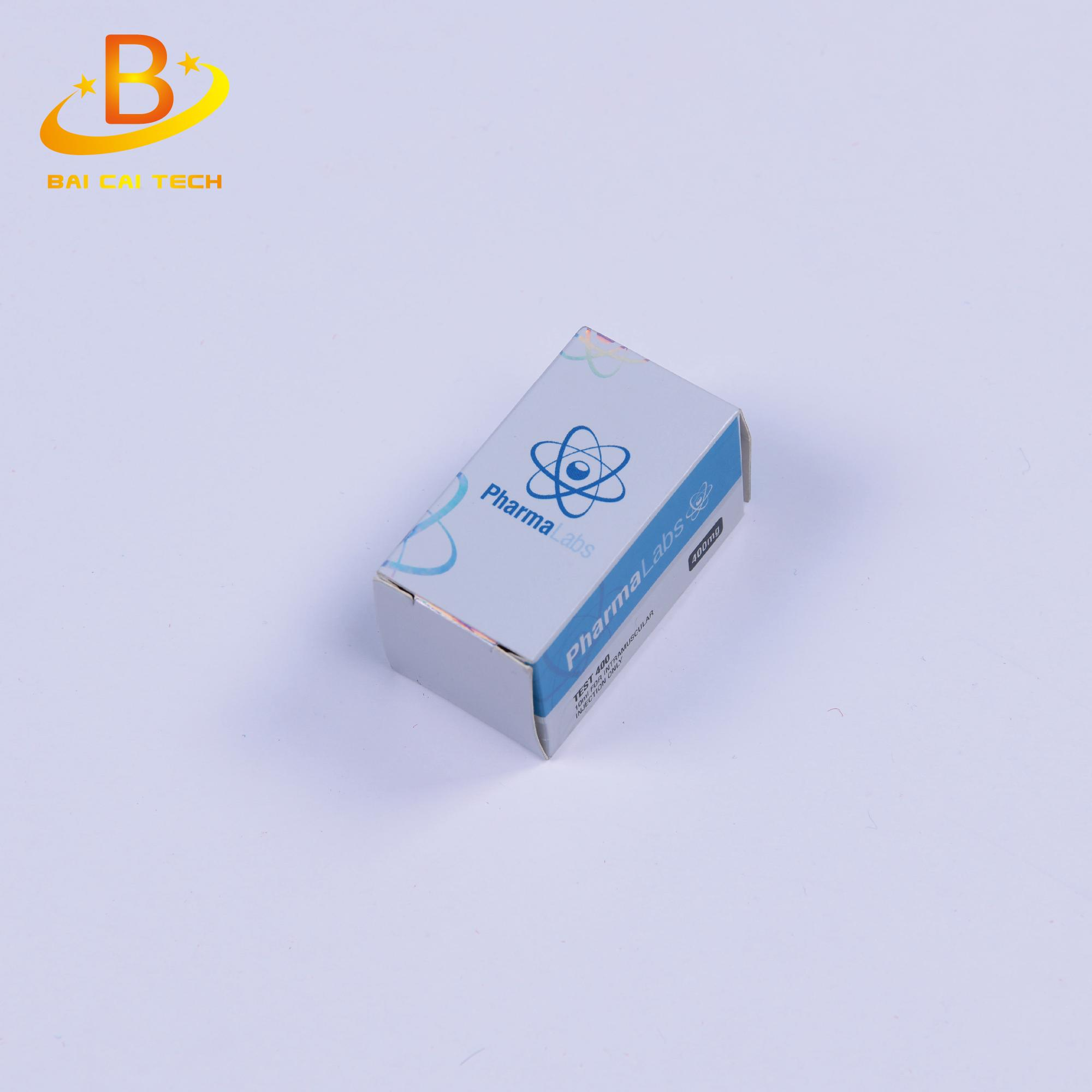 Free design custom laser paper packing 10ml bottle box