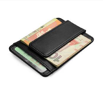 Money Clip Wallet for Men women belt Leather money clip with Credit Card  Holder 823395c8b