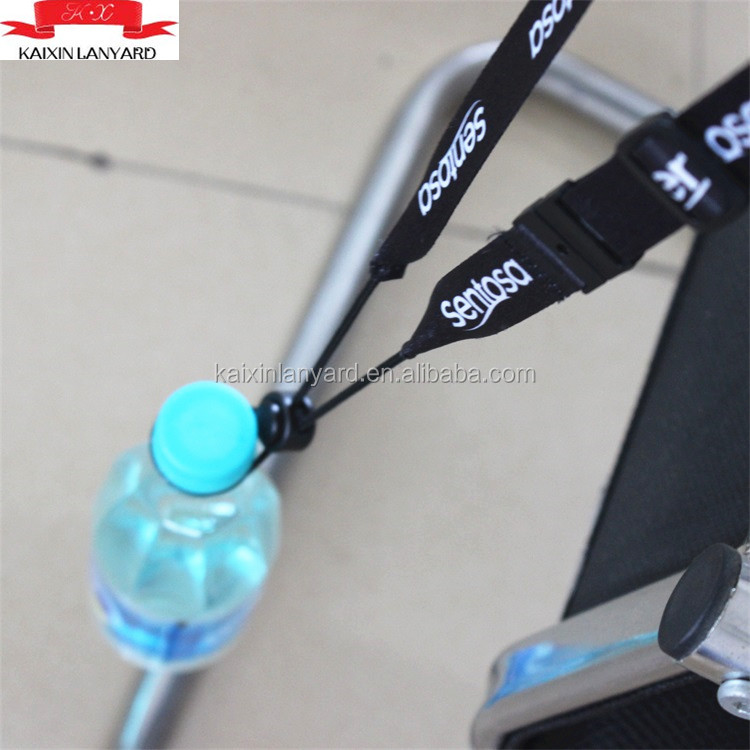 Cheap custom water bottle lanyards drink bottle holder lanyard