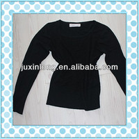 Newly r used clothing,old clothes women long sleeve T-shirt