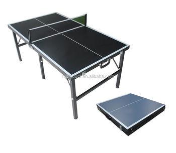 Folding Tennis Table Portable Pingpong Balls Net Racket Bat Mini Size  Indoor Set