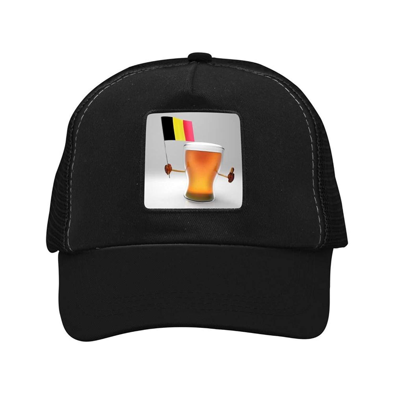 6f7c886c Get Quotations · Belgium Flag and Beer 2018 football World Cup Baseball Hat  Adult Baseball Cap Hat