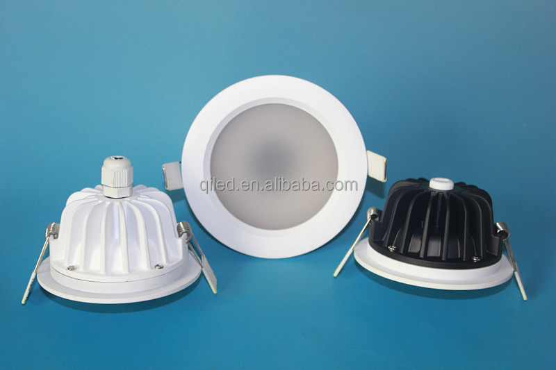 IP65 waterproof 5630 SMD recessed bathroom LED ceiling downlight 4inch 12W CE&ROHS 3 years warranty