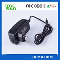 OEM factory high quality 12v 1.5a switching power adapter with UL CE FCC CB SAA C-tick
